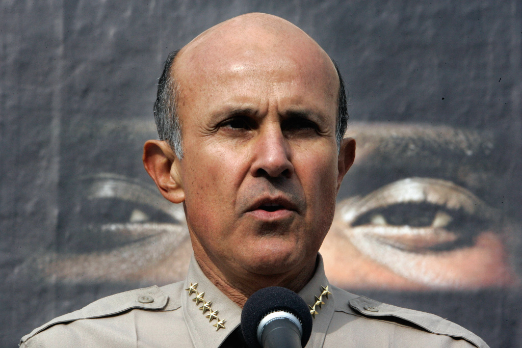 Former Los Angeles County Sheriff Lee Baca
