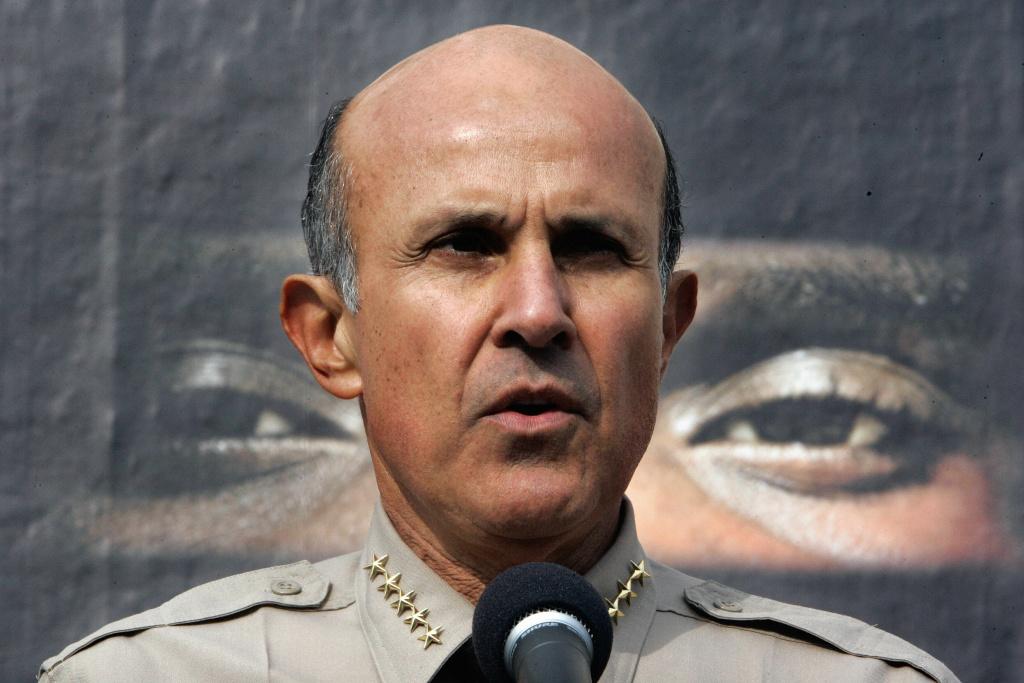 Former Los Angeles County Sheriff Lee Baca