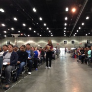 More than 1,300 turned out for a Sunday workshop on Obama's immigration order. The Coalition for Humane Immigrant Rights of Los Angeles hosted the event at the LA Convention Center.