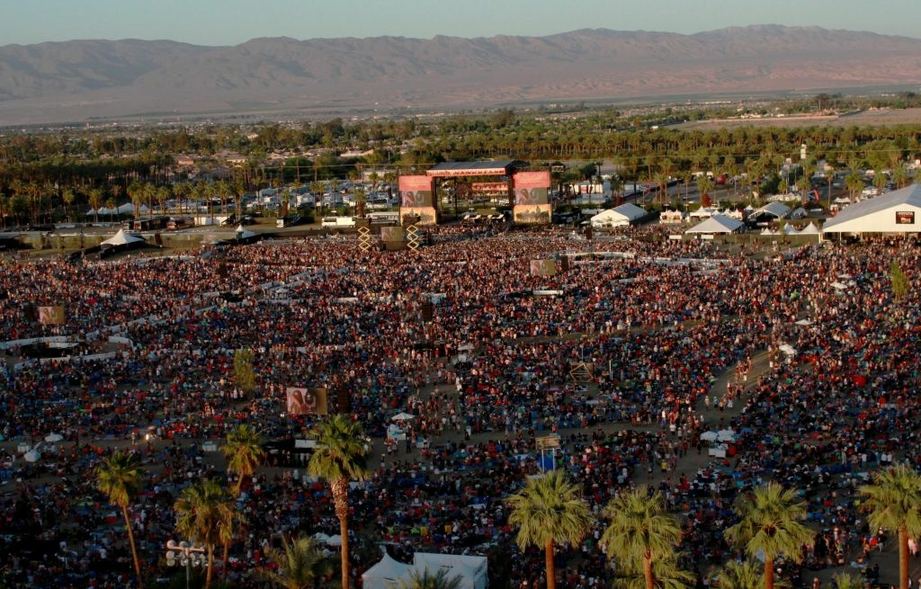 The crowd at the annual Stagecoach Festival packs the Indio Polo Grounds every spring. Organizers have just announced the country-rock music lineup for next year's festival.