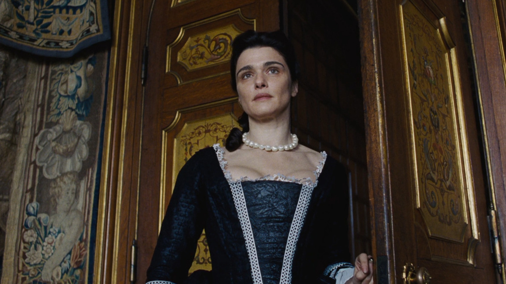 Rachel Weisz as Lady Sarah Churchill in