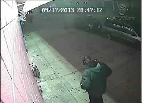 The Los Angeles Police Department released this video of a suspect police believe is connected to a South LA store robbery at 74th Street and Broadway, which resulted in the shooting death of a clerk on Sept. 17, 2013.