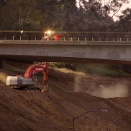 Carmageddon 2 bridge work in 2011
