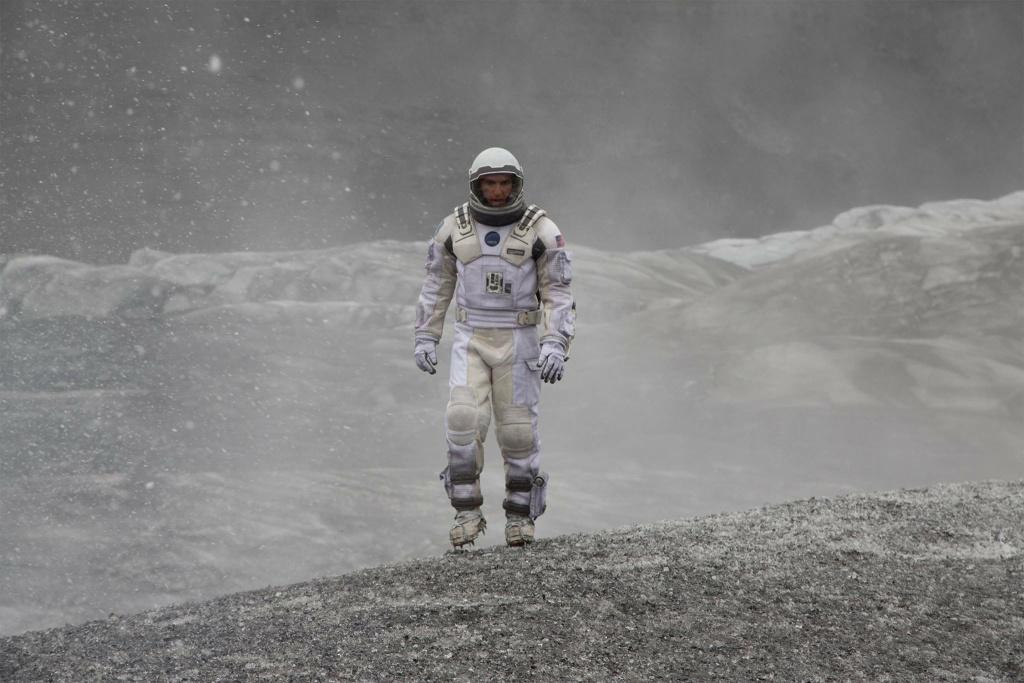 Matthew McConaughey starred in the sci-fi epic,