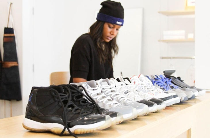 Jason Angsuvarn has loved sneakers since he was a kid. Now he's making a career out of cleaning them.