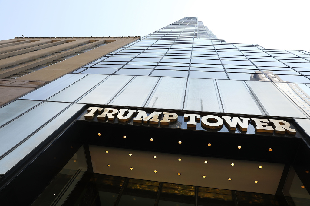 A federal court hears arguments in a case brought by Democratic lawmakers about whether the Trump Organization's business dealings with foreign governments violates the Constitution's Emoluments Clause.