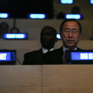 The United Nations And OMEGA Present Planet Ocean In The Presence Of U.N. Secretary-General Ban Ki-Moon, Environmentalist Yann Arthus-Bertrand