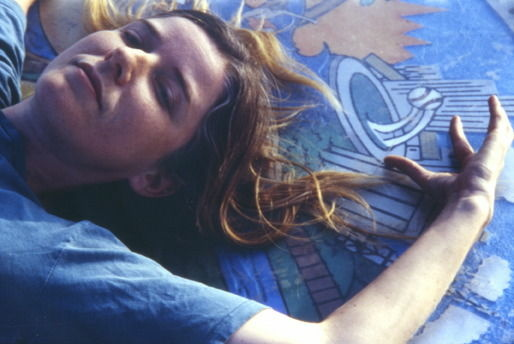 "Publicity image of Heather Woodbury from her ""Tale of 2 Cities"" performance from 2001"