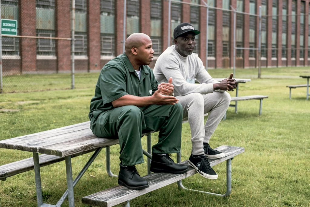 Actor Michael K Williams in the VICE documentary on the juvenile justice system.