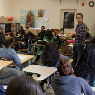 Brock Cohen; Humanitas teacher