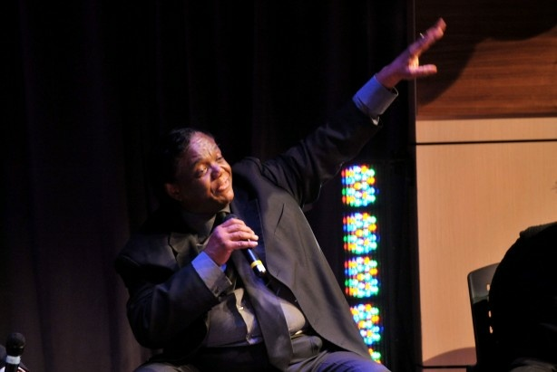 Lamont Dozier sings his own song at the Grammy Museum's Songwriter's Hall of Fame.