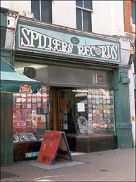 Spillers Record Store in Wales, which is considered the world's oldest record store.