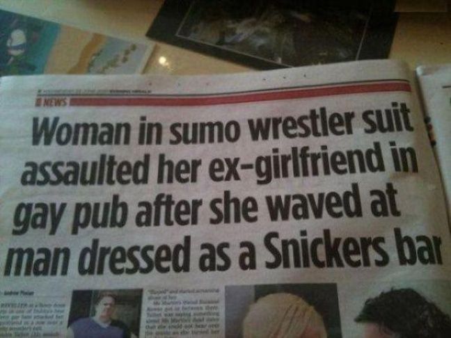 One of the most famous headlines of all time -