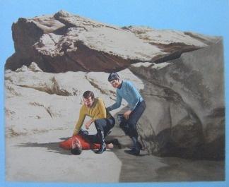 Luke Butler - Landing Party II. Now on Display at OCMA's California Biennial!