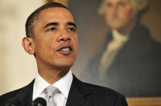 U.S. President Barack Obama at the White House on July 13, 2010 in Washington, D.C.