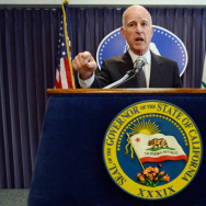 CA Governor Jerry Brown Holds News Conference On Pension Reform