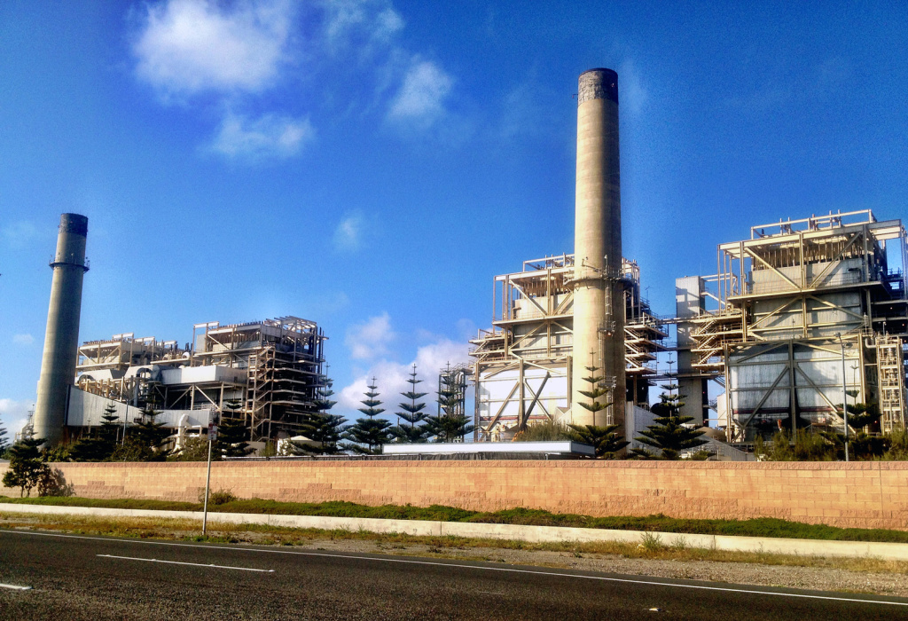 Huntington Beach gas-fired power plant