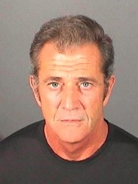 In this handout photo provided by the El Segundo Police Department, Mel Gibson is pictured in a booking photo at the El Segundo Police Department on March 16, 2011 in El Segundo, California.