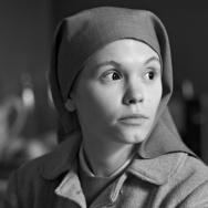 "Agata Trzebuchowska as the title character ""Ida"""