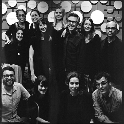Ira Glass and Lisa Pollak from