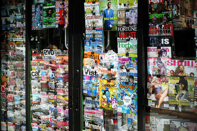 Magazine Stand: from Forbes to Top Gear to High Times, this guy has 'em all, August 25, 2007.