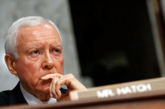 "Orrin Hatch of Utah is one of four Republican lawmakers still in the Senate who supported a 1993 GOP bill requiring an ""individual mandate."""