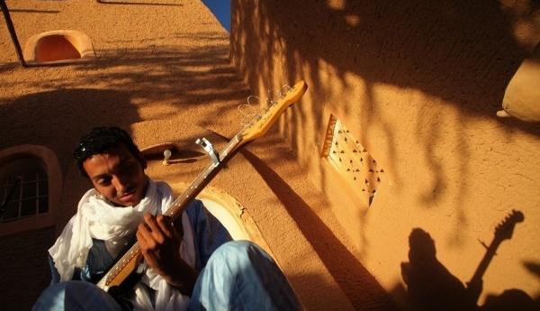 Tuareg guitarist Bombino.
