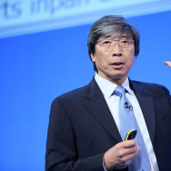 Dr. Patrick Soon-Shiong, physician, surgeon and scientist, addresses delegates on day two of the NHS conference in 2014.