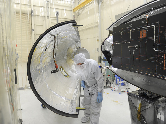 NASA IRIS solar spacecraft readys for launch