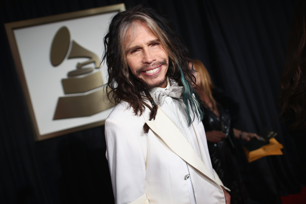 LOS ANGELES, CA - JANUARY 26:  Singer Steven Tyler attends the 56th GRAMMY Awards at Staples Center on January 26, 2014 in Los Angeles, California.  (Photo by Christopher Polk/Getty Images for NARAS)