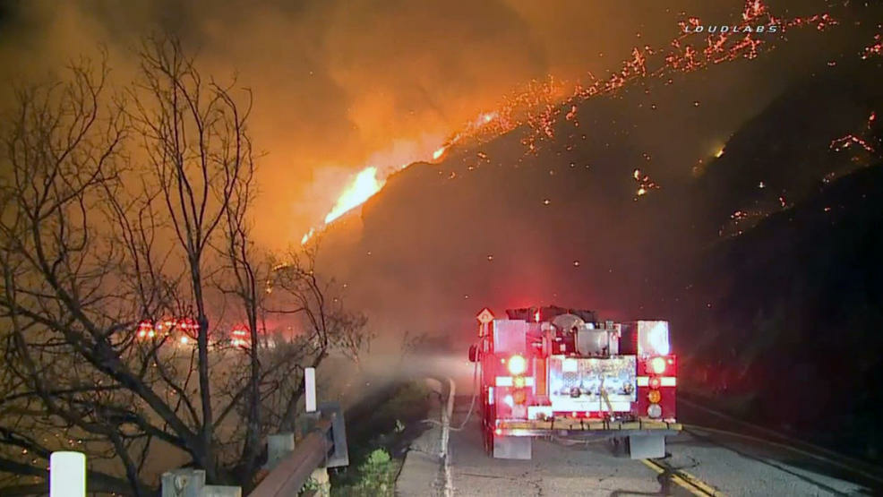 Firefighters responded to a brush fire was reported shortly before 3 a.m. Thursday off Mulholland Highway near Decker Canyon, not far from the Ventura County line. One inmate firefighter was struck by a falling boulder. She later succumbed to her injuries.