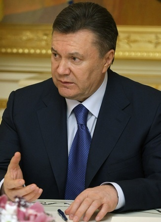 Viktor Yanukovych, as seen on April 27, 2010.