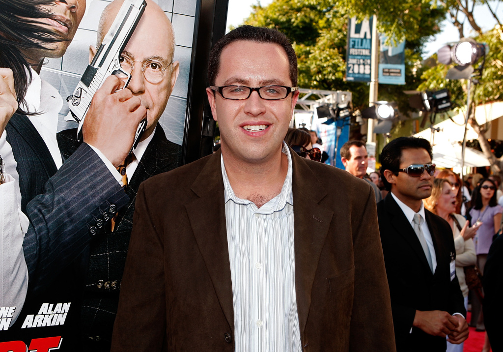 Jared Fogle arrives at the Warner Bros. World Premiere of