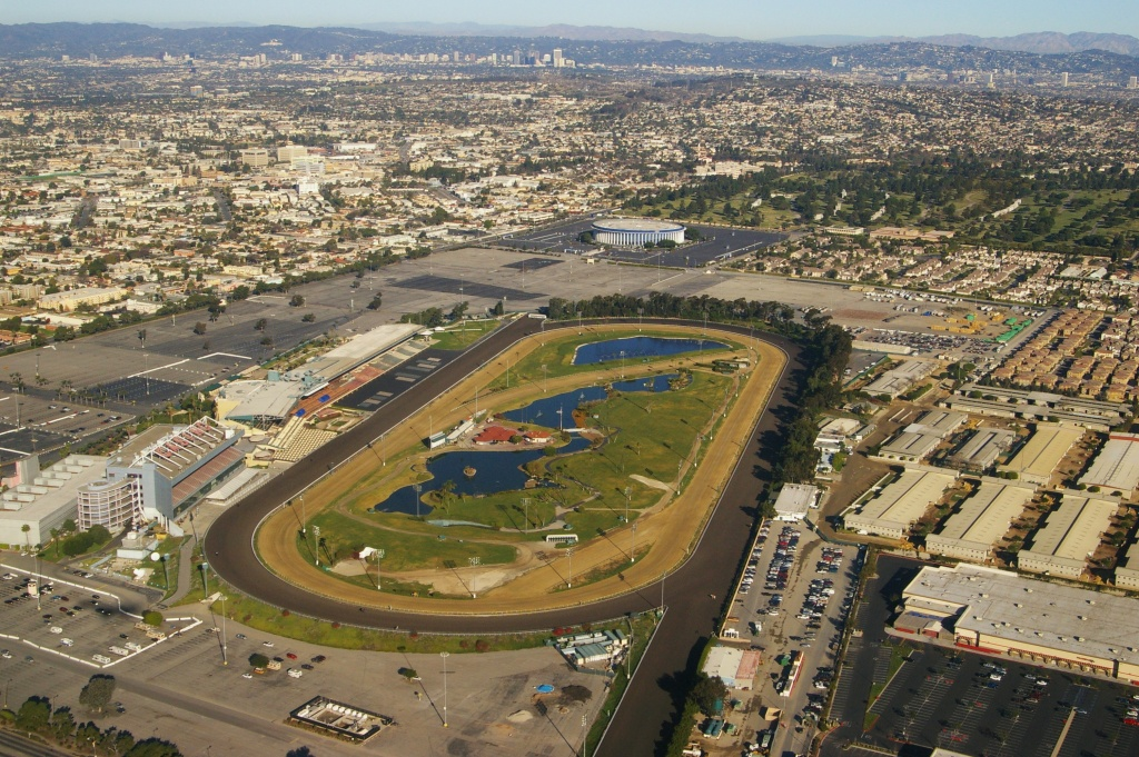 The San Francisco-based company developing a proposed stadium on the site of the former Hollywood Park racetrack in Inglewood has donated more than $100,000 to city officials.