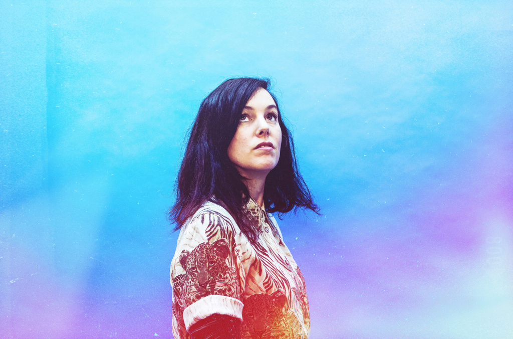 British musician and composer Anna Meredith.