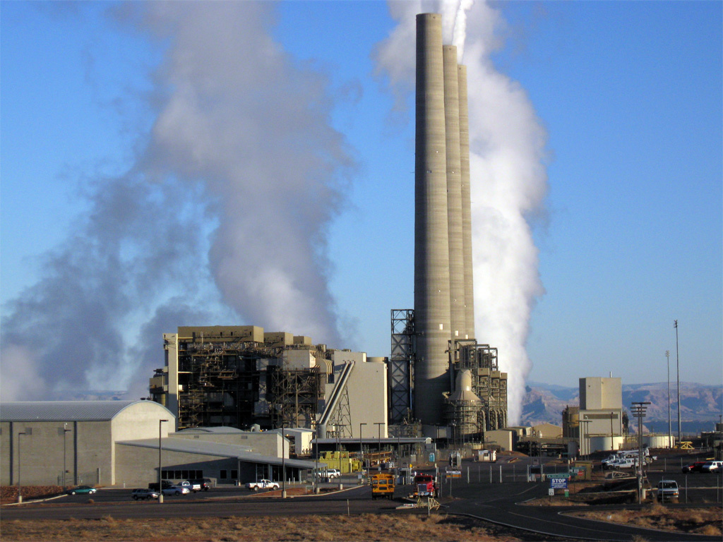 In Arizona, the Navajo Generating Station is a coal-fired power plant consuming up to 25,000 tons of coal per day that serves the LADWP, among others.