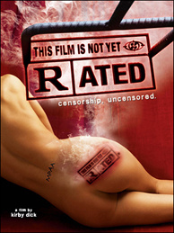Poster for the film that reveals the arbitrary nature of the movie rating system.
