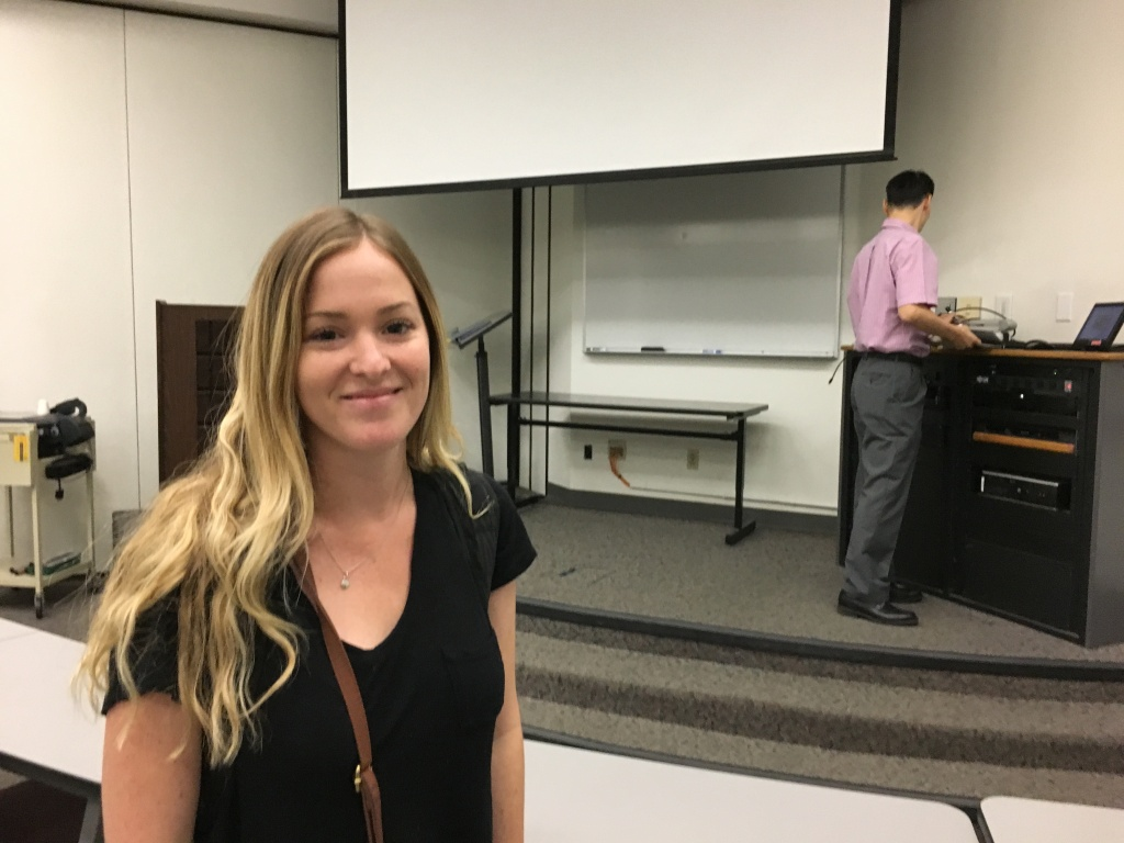 Cal State Long Beach student Jaclyn Kaufman is one of tens of thousands enrolling in the Associate Degree for Transfer each year.