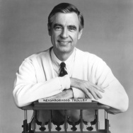 Fred Rogers The Host Of The Children's Television Series Mr Rogers' Neig