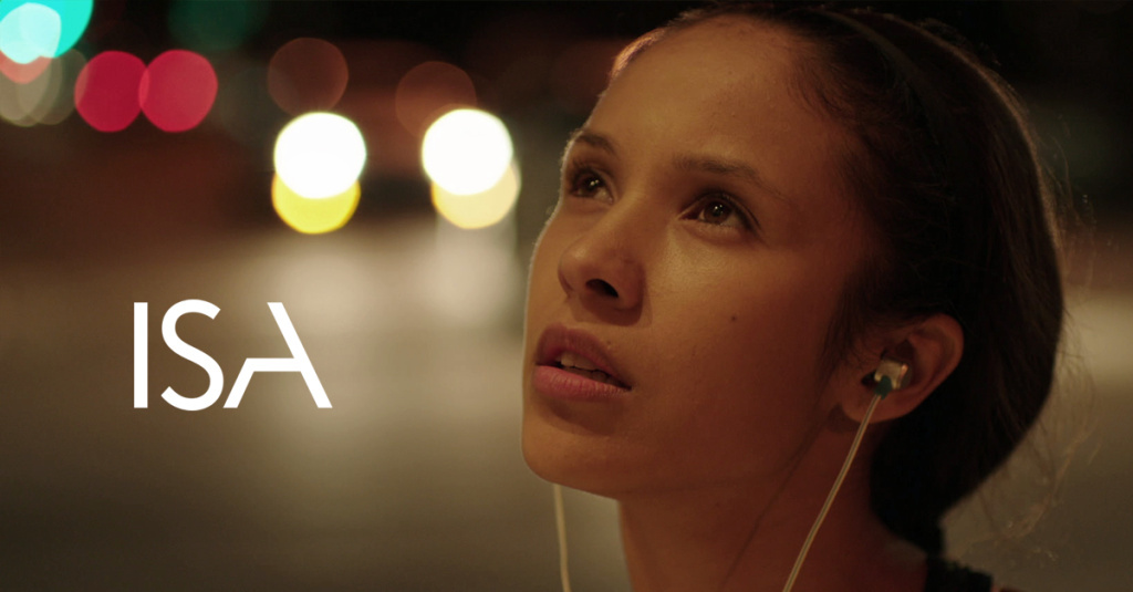 Cover art for the new film, Isa.