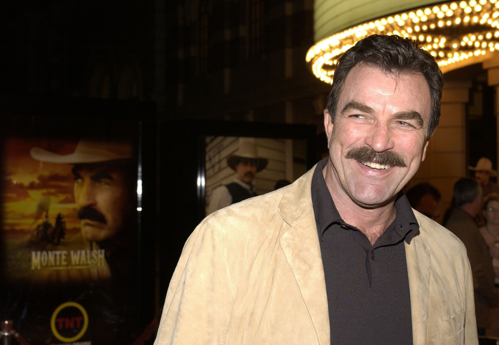 Actor Tom Selleck attends the premiere of the movie