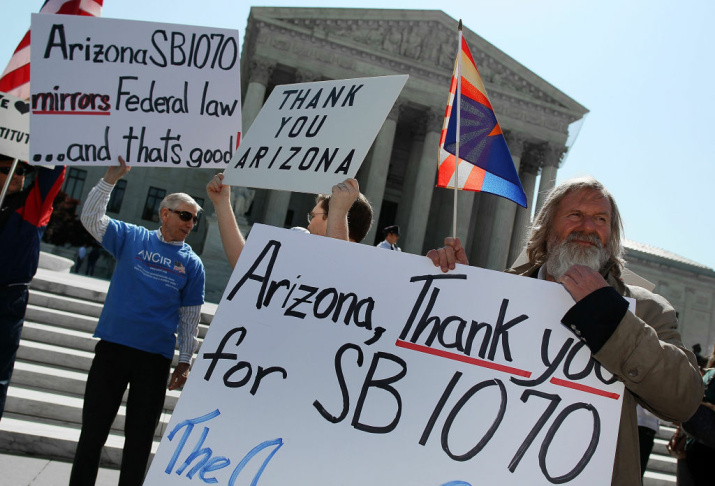 Supreme Court Hears Oral Arguments On Arizona Immigration Law