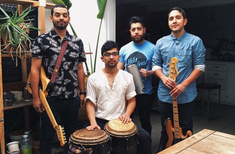 The afro-latin band Quintapenas hails from California's Inland Empire
