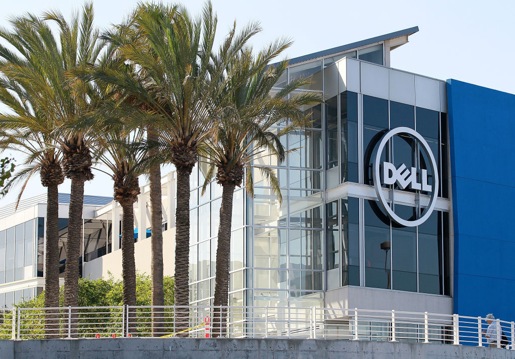 The new Dell research and development facility in Santa Clara, California. The Texas-based tech firm announced that's it's buying Orange County's Quest Software for $2.4 billion.