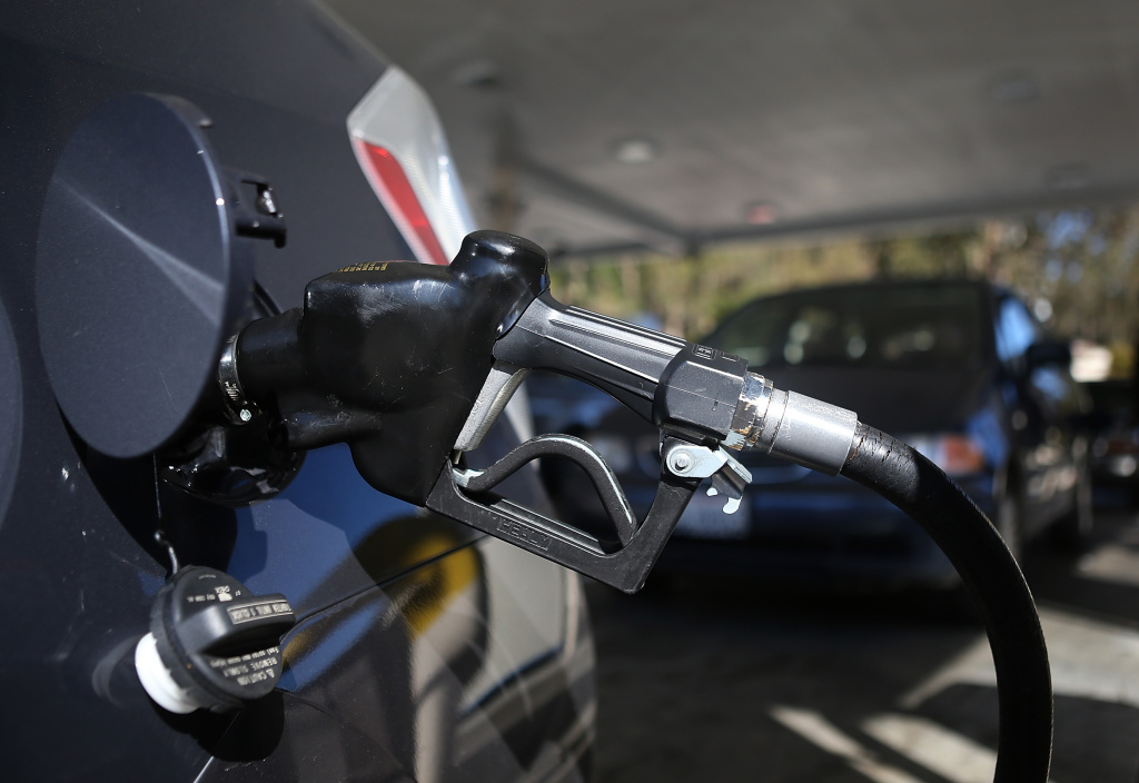 A 12-cent state gas tax increase takes effect on Wednesday but the impact may be lessened by stations offering the cheaper winter blend of gasoline.