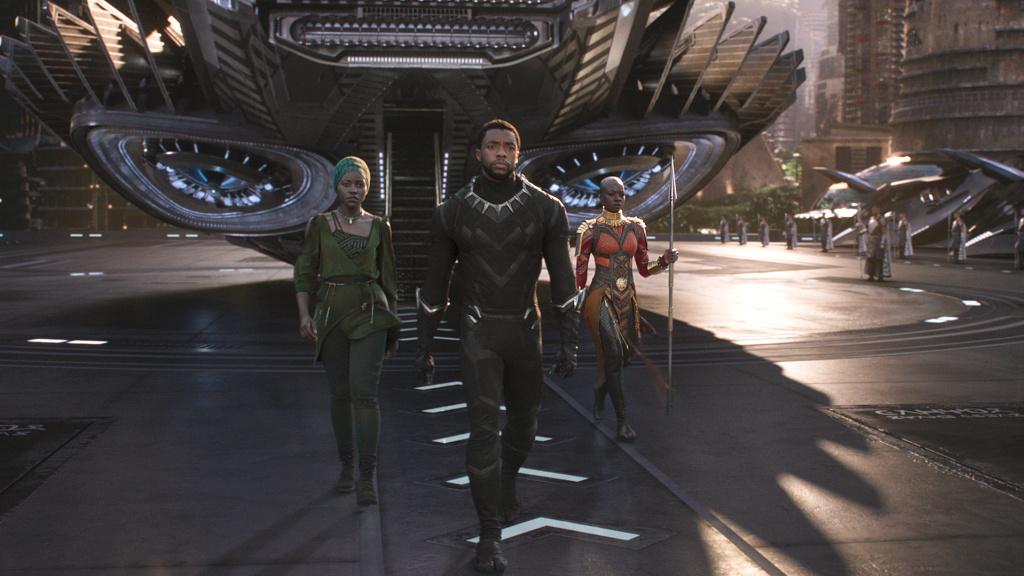 Chadwick Boseman stars in the 2018 superhero movie