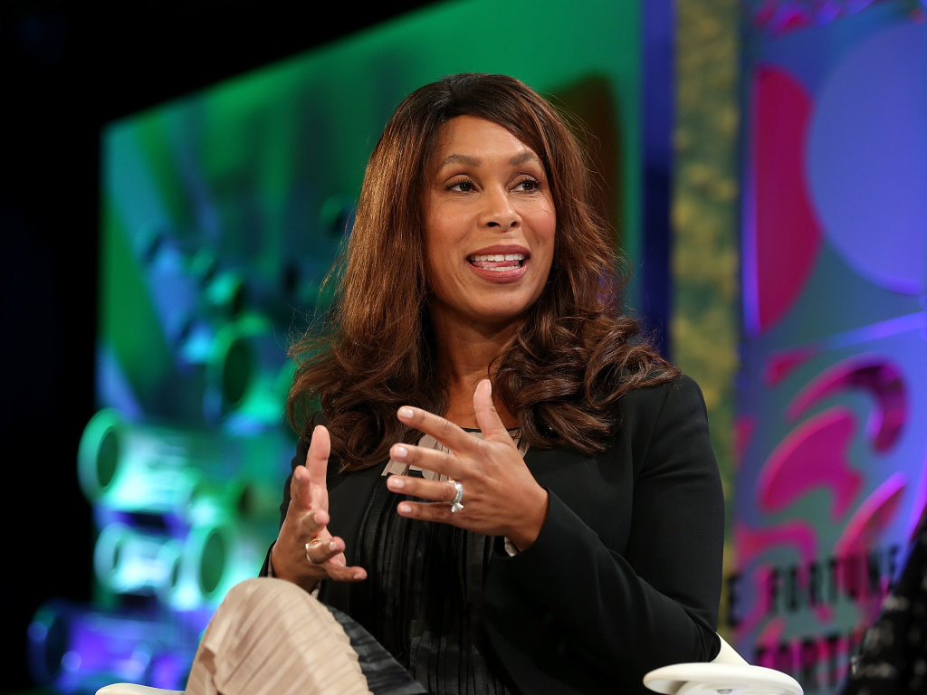 Channing Dungey was named the next chairman of Warner Bros. Television Group. She previously served in executive roles at ABC and Netflix. She is seen here at the Fortune Most Powerful Women Summit 2018.
