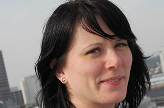 L.A. Derby Doll Micki Krimmel is a new business owner, founder of NeighborGoods.net, part of a growing social network trend in which people lend and borrow stuff they own but hardly ever use.