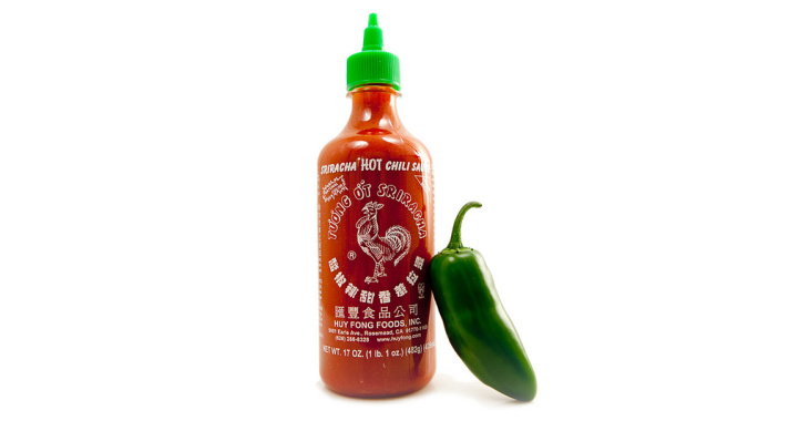 sriracha rooster sauce