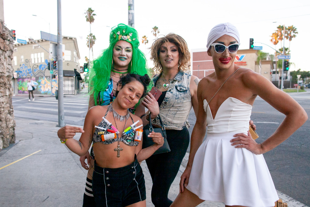 Sex Workers Outreach Project Party at Akbar in Los Angeles, Calif. on Sunday, Sept 16, 2018.